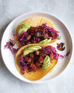 Vegan Tempeh Tacos