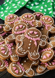 Vegan Gingerbread People